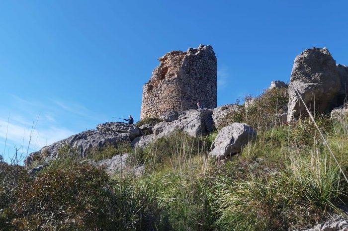 SA COSTERA y Torre de Na Seca desde el Mirador de ses Barques
