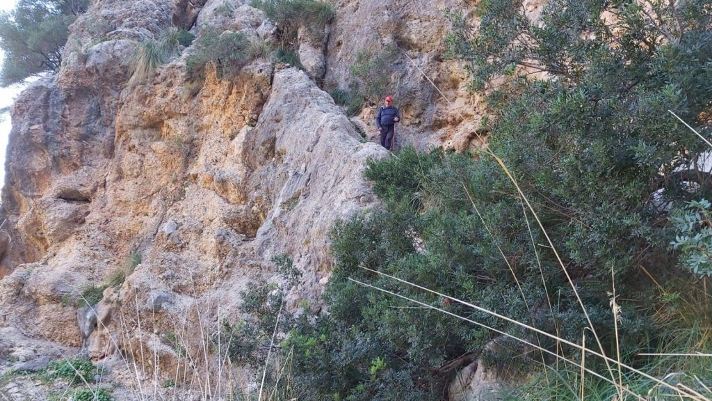 Puig de Balitx por el Pas de s'Heura
