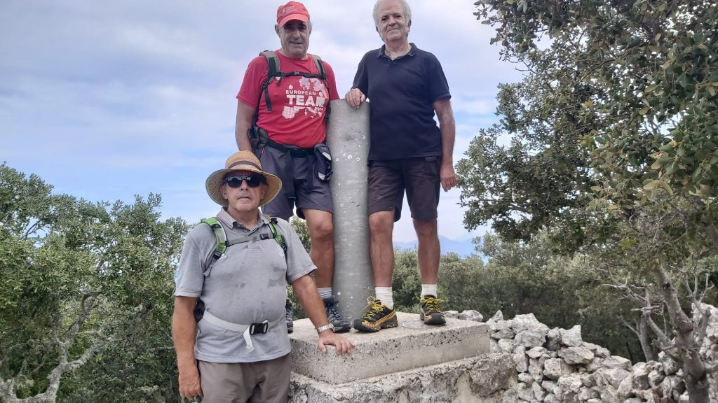Cima de la Fita del Ramm en la Ruta Fita del Ram desde Puigpunyent-Caminando por Mallorca