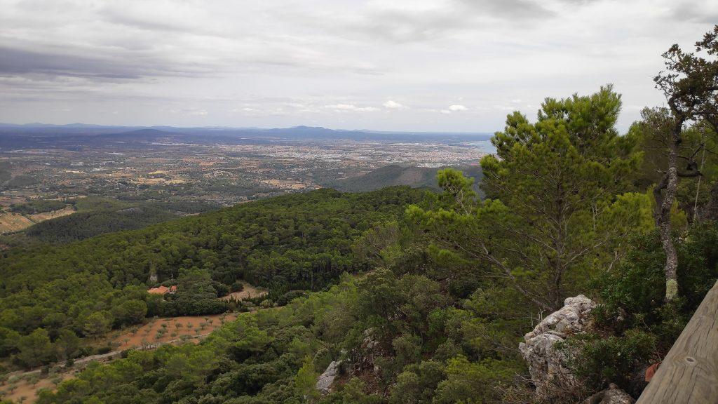 Mirador Natural en la ruta Vuelta Fita del Ram desde Establiments