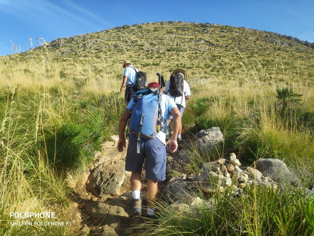 Camí de Siller de la ruta Pollença-Cala San Vicente