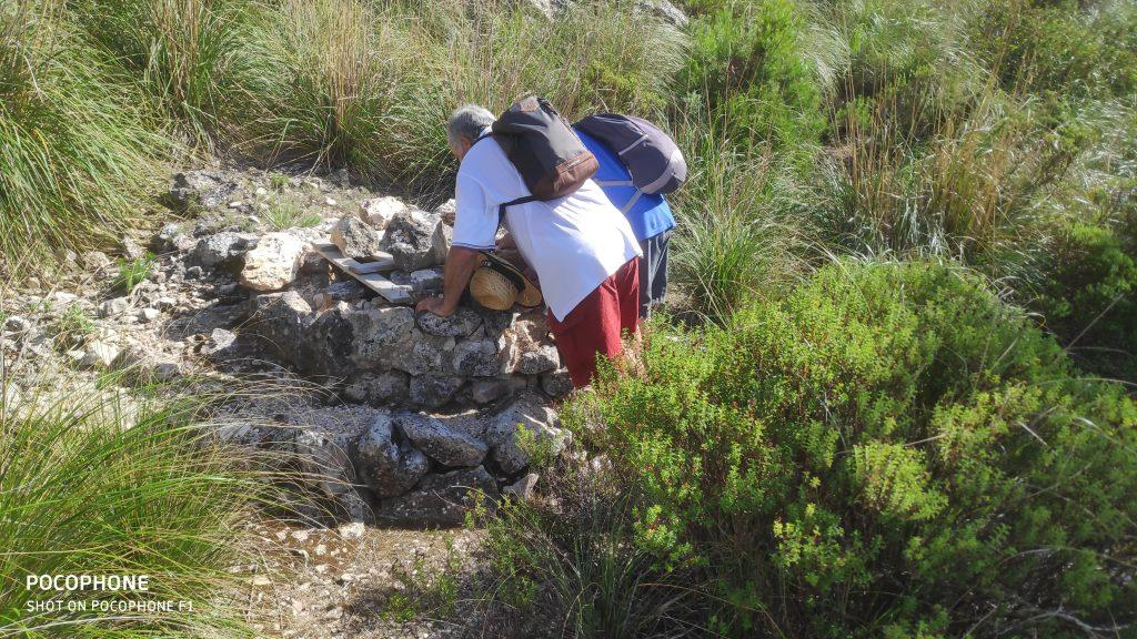Es Cisternó en la ruta Puig de Galatzó por Ses Planes