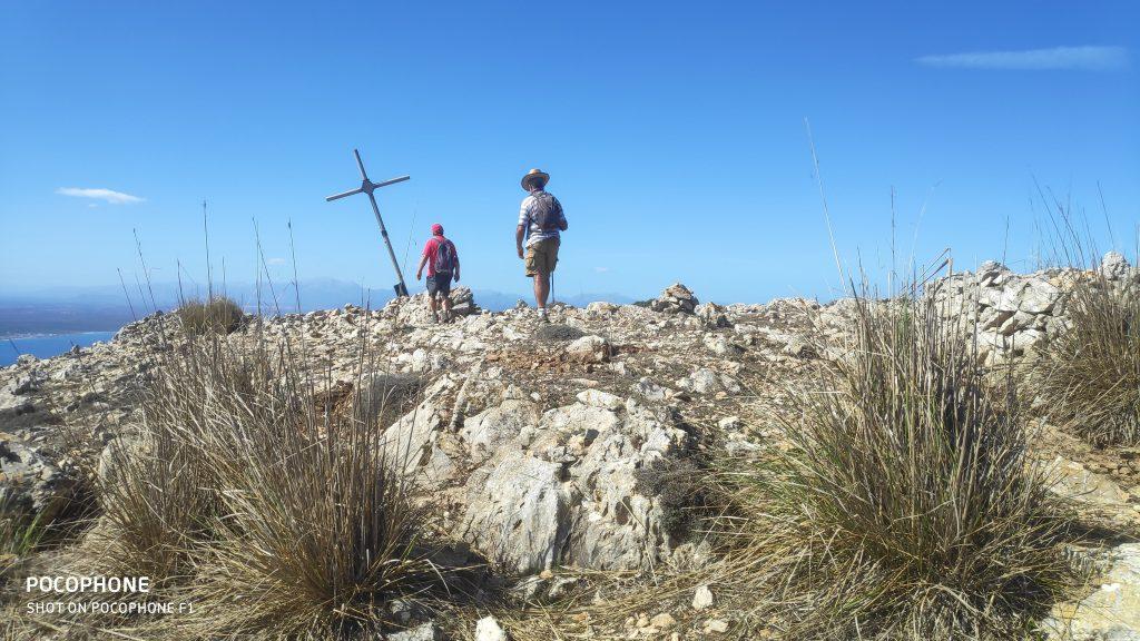 Puig de sa Creu en la ruta Talaia Freda-Pas des Porc