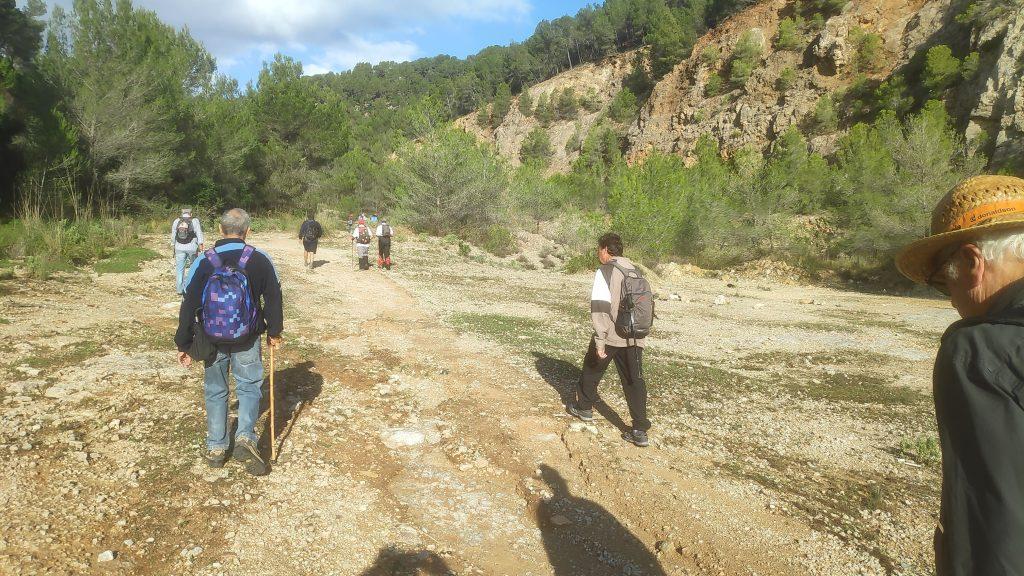 Les Pedreres de Son Quint en la ruta Genova-Son Vida-Les Pedreres