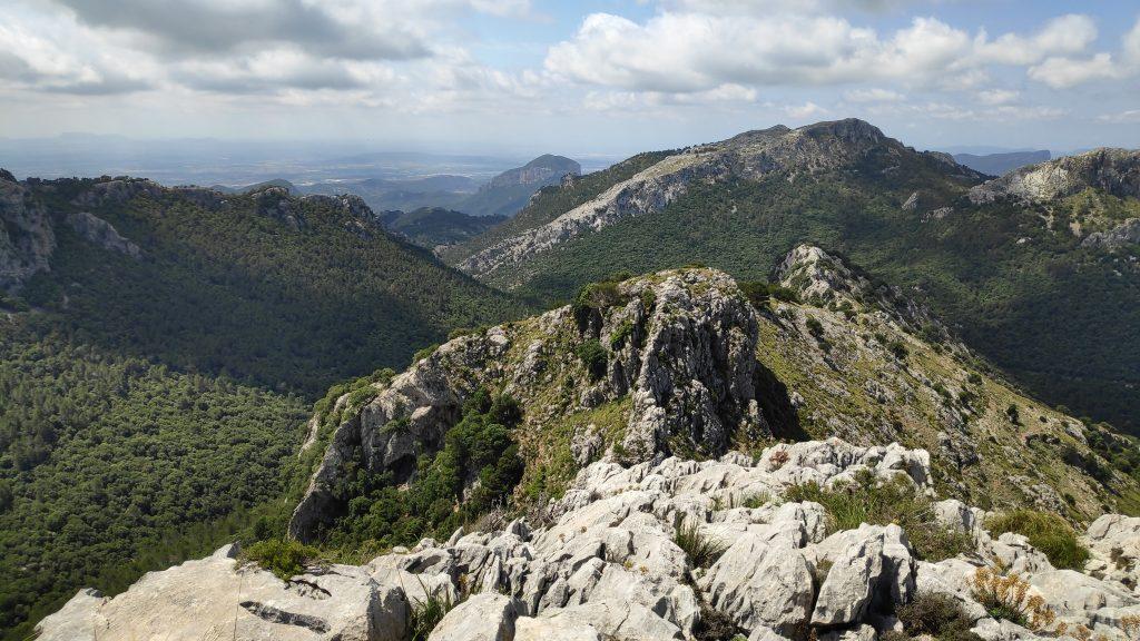 Serra des Teixos desde Cúber