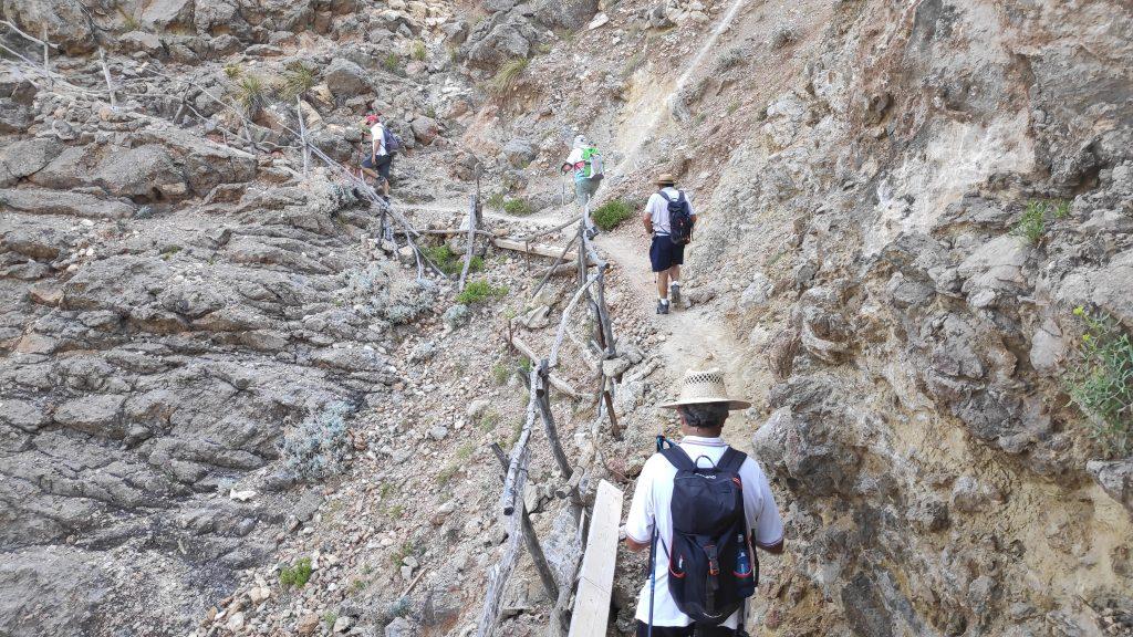Camino de los pintores en la Ruta La Muleta desde Deiá