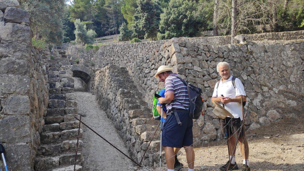 Pontets de la Font Coberta en la Ruta Miradores del Archiduque