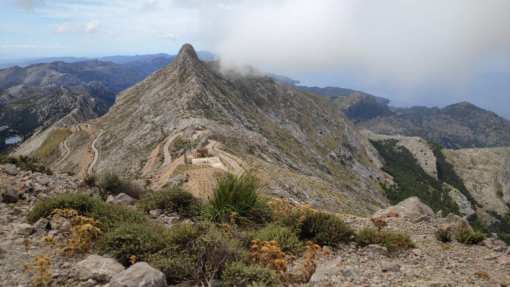 Penyal des Migdia en la ruta Puig  Major por Coma Fosca