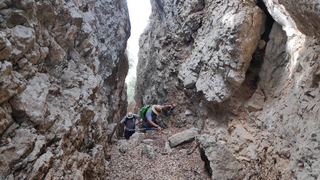 Pas de Na Lluisa por la Ruta Fita del Ram desde Puigpunyent