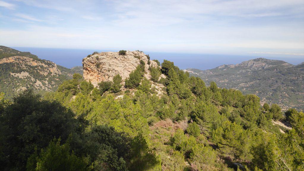 Es Castellot en la ruta Puig d' Alfàbia desde Soller