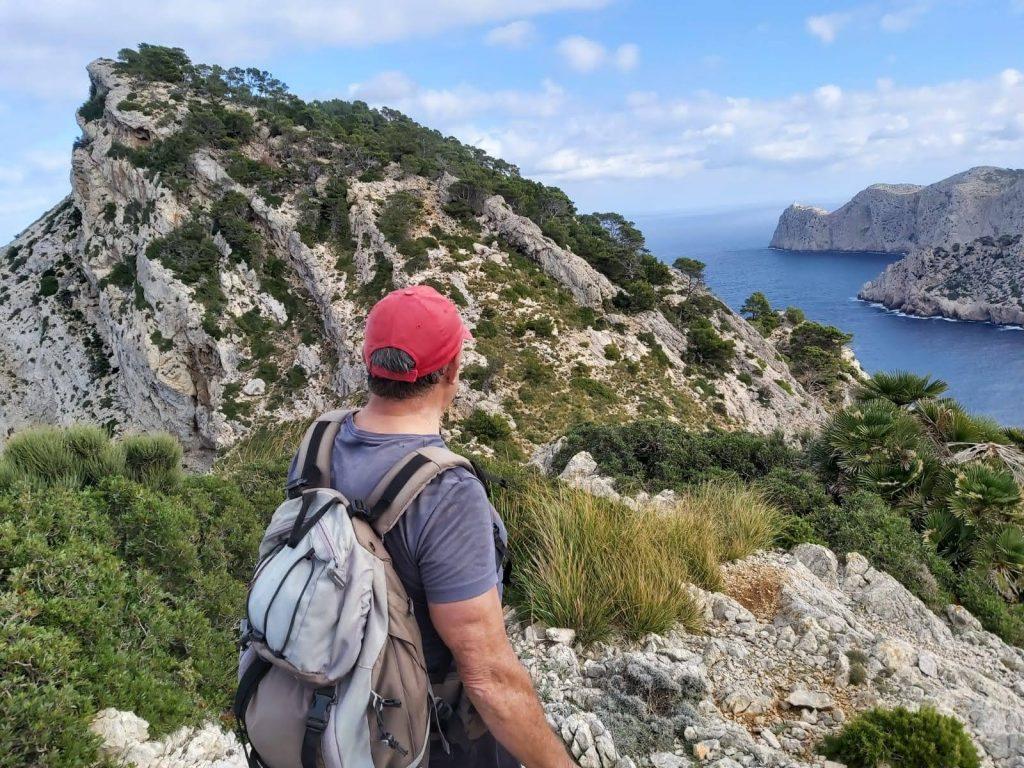 Morro de Catalynia y Faro de Formentor  en la Ruta Cap de Catalunya-Pal de Formentor