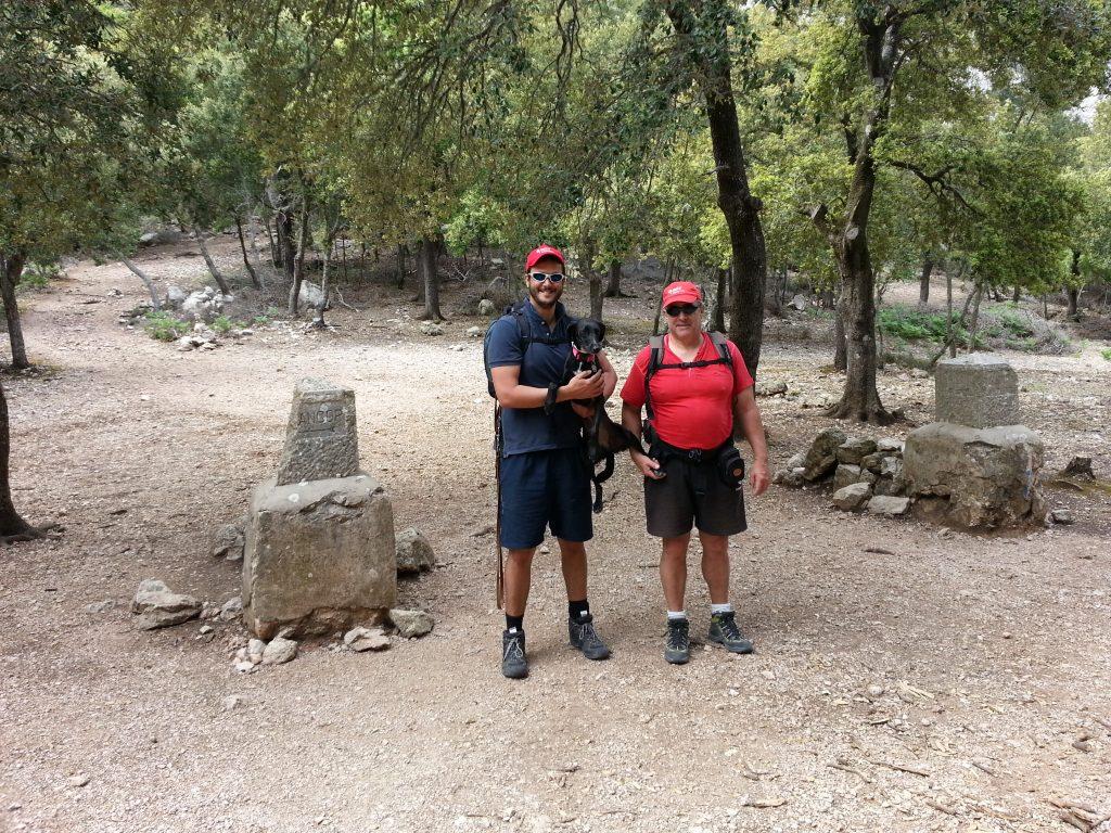 Coll de Sa Linea de la  Ruta del Puig de n'Alí