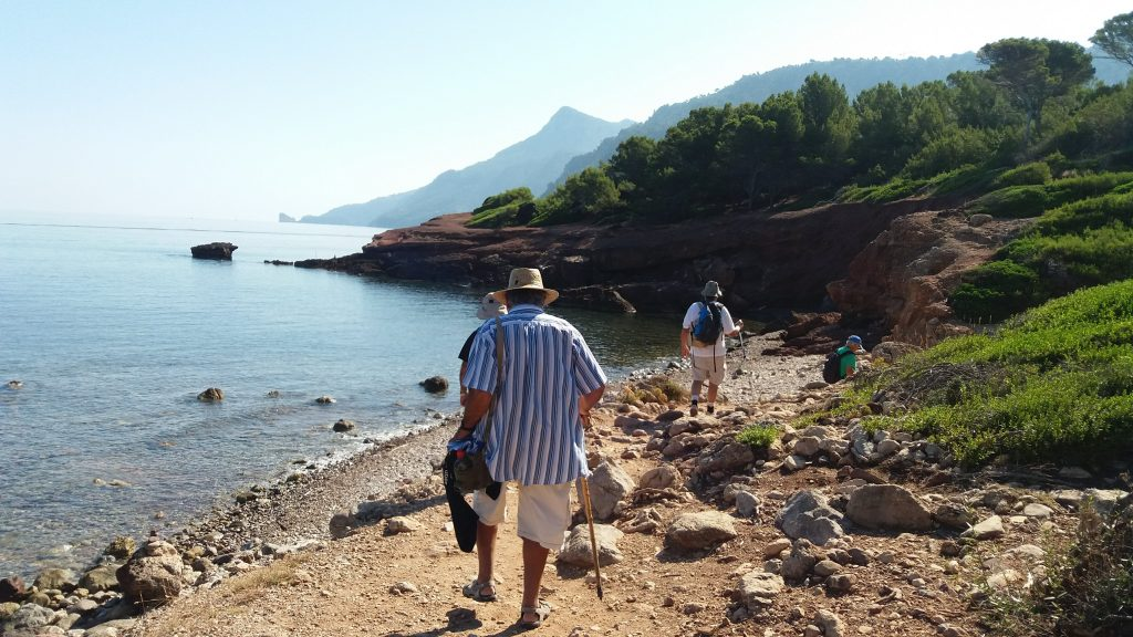 Playa de Son Bunyola en la Ruta Sa Volta des General