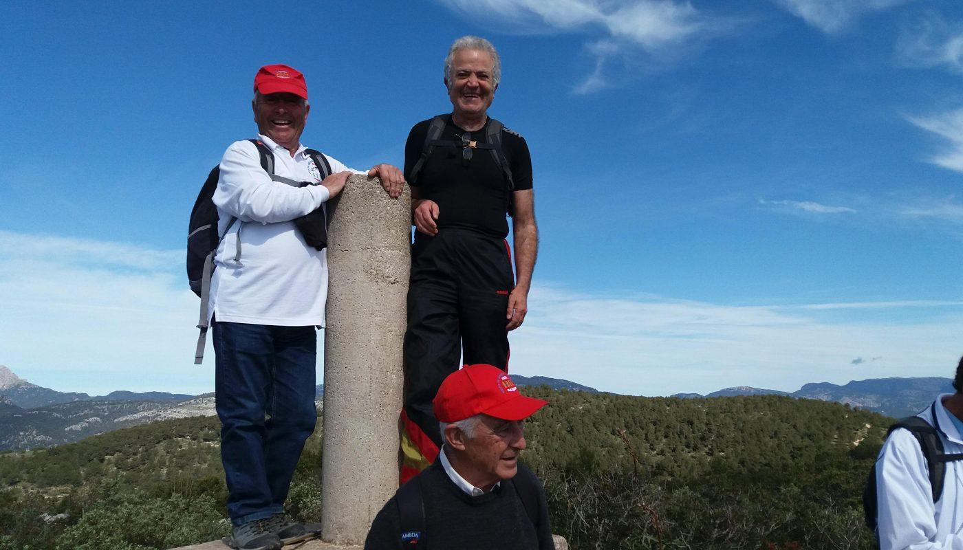 Vértice Geodésico de la cima del Puig de Bendinat