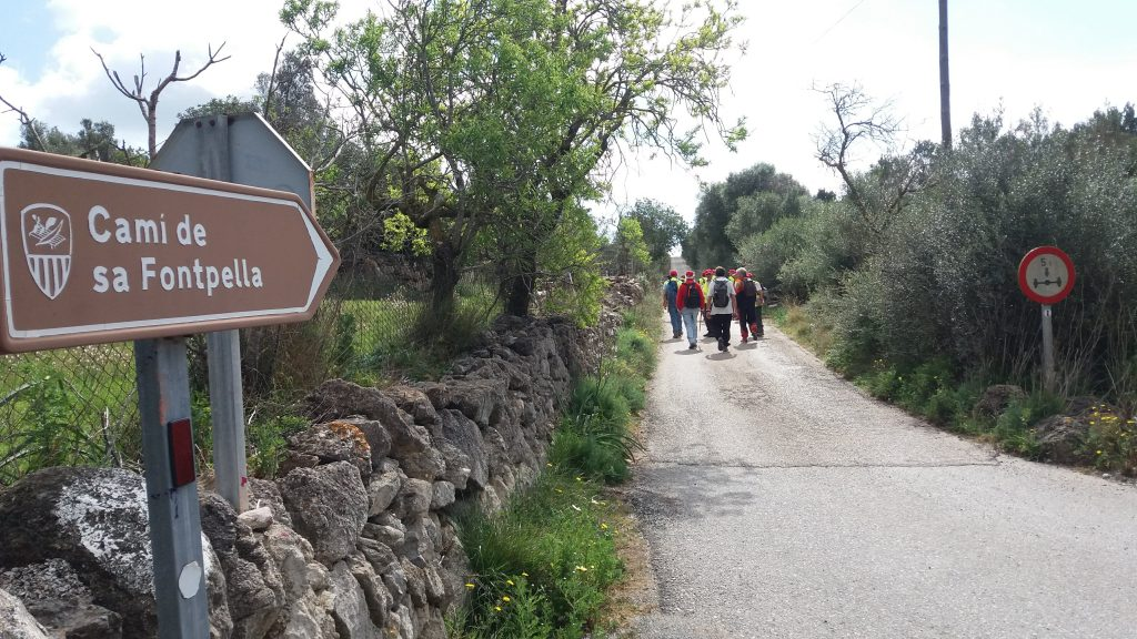 Camino de sa FontpellaRuta de Sant Llorenç de Cardessar-2