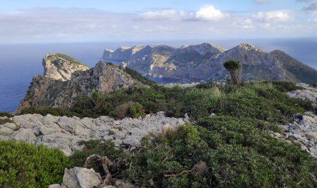 Vistas de la Peninsula de Formentor