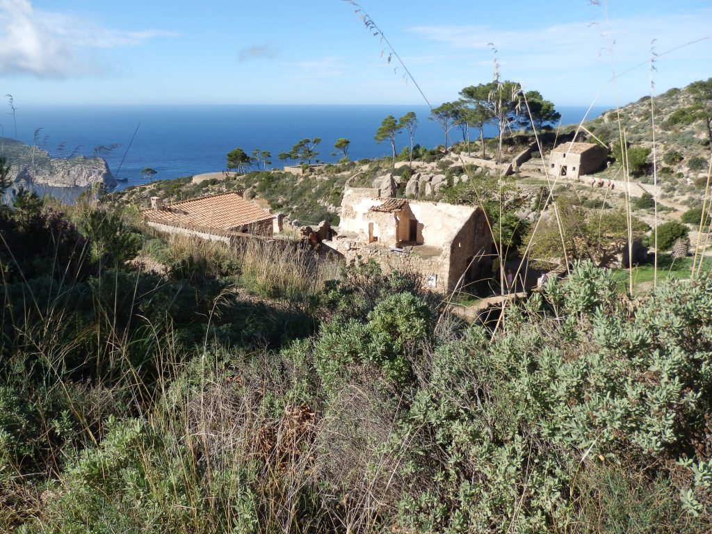La Trapa en la ruta de La Trapa-Torre de Cala en Basset