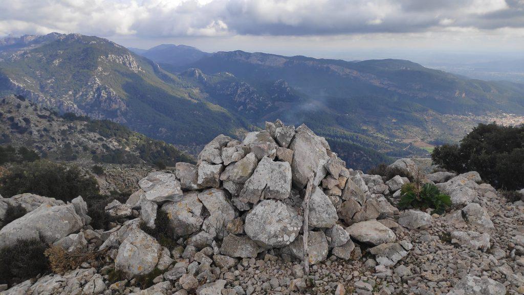 Puig de Sa Font en la ruta Puig des Teix-Puig de Sa Font