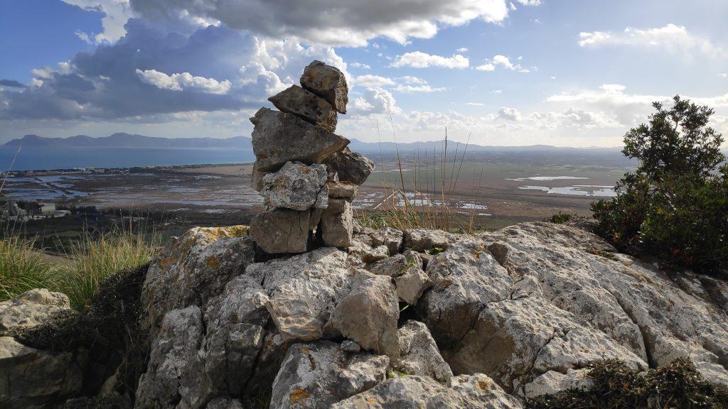 Una de las cimas de la Ruta de la Sierra de Son Fe
