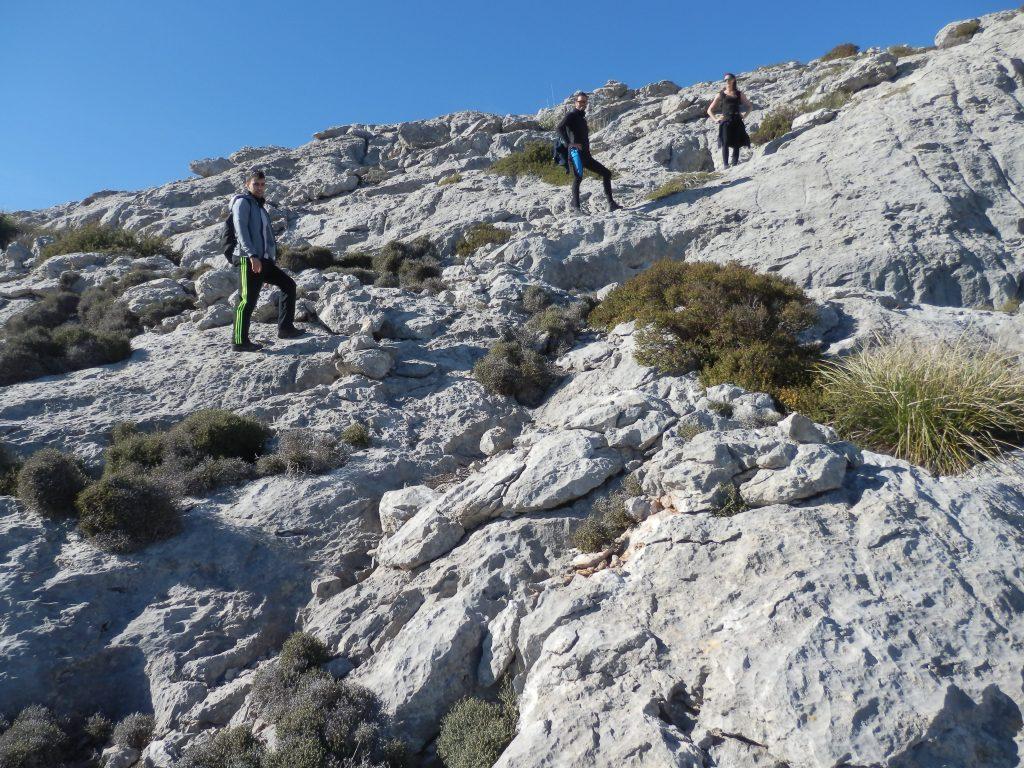 La cima del Puig Roig 2018