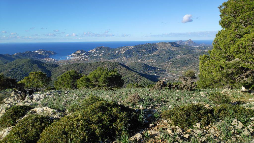 Mirador natural en La Ruta del Puig de Garrafa