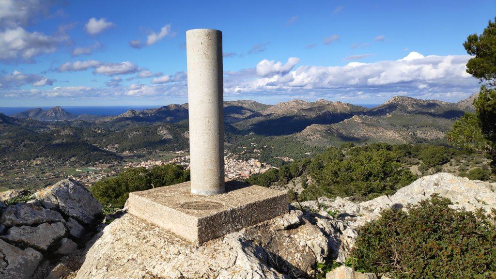 Cima del Puig de Garrafa enLa Ruta del Puig de Garrafa