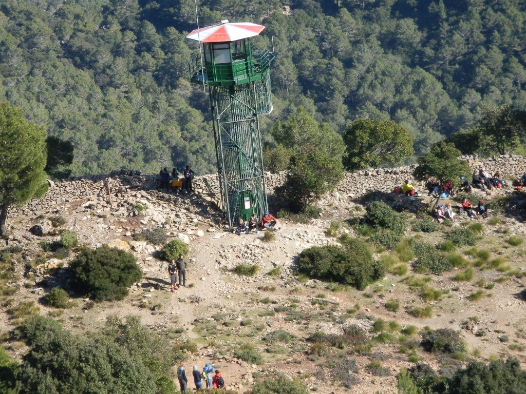 Puig de Galatzó desde Puigpunyent