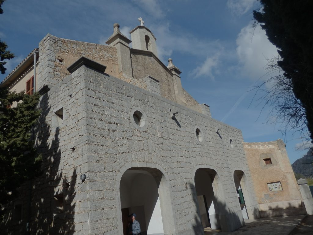 Ermita de Betlem desde Artá