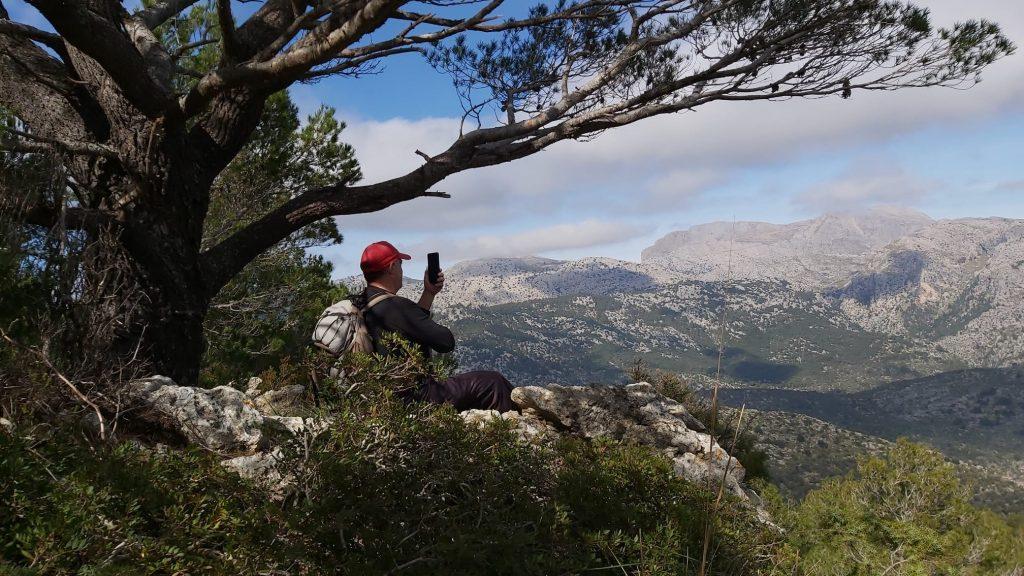 Puig de s' Alcadena desde Alaró