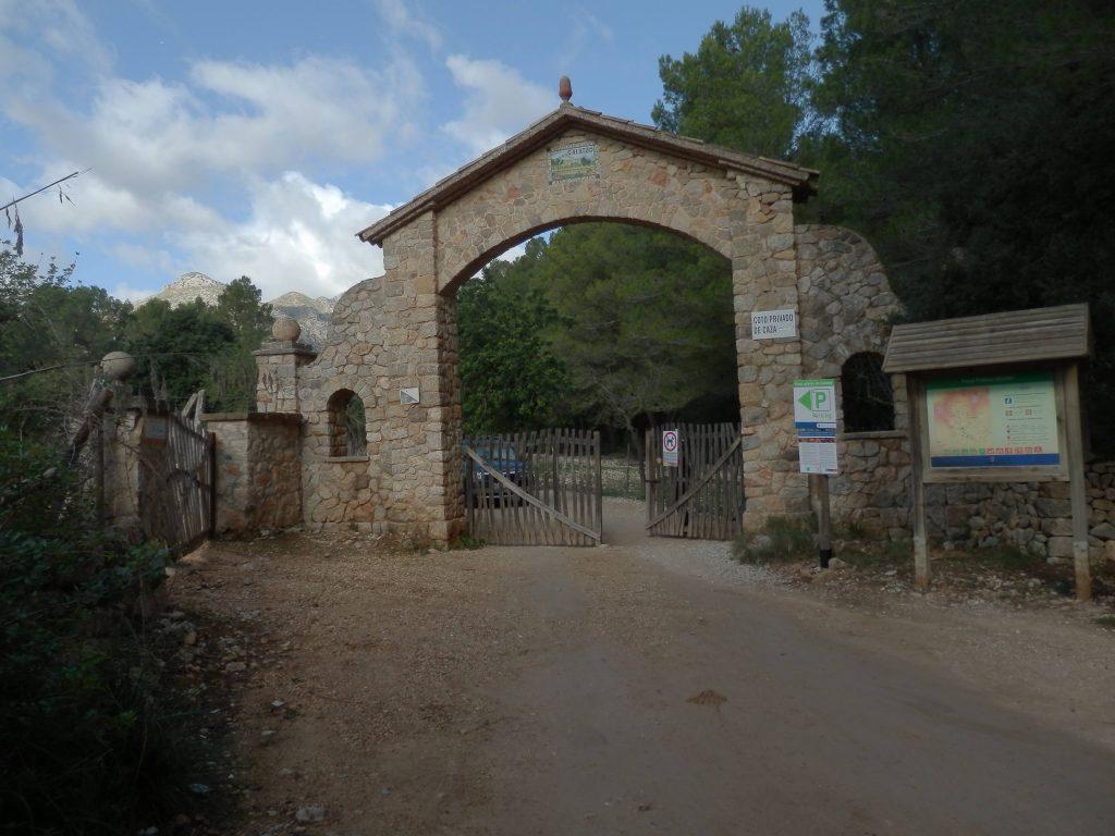 Puig Batiat por Ses Vinyes