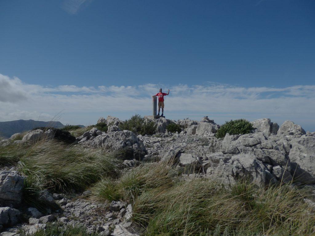 Puig de Sa Galera desde Deiá