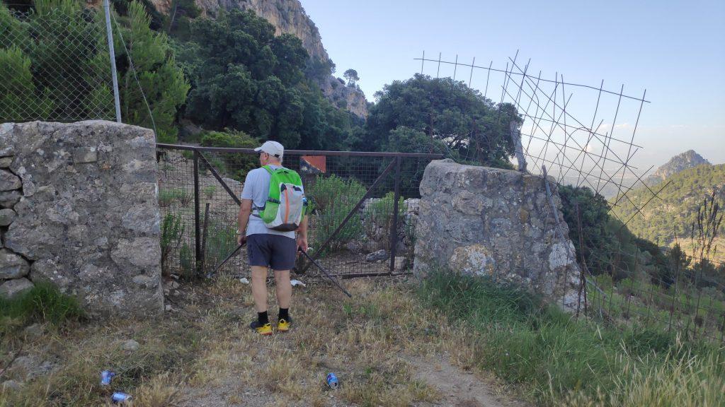 Puig d'Alfàbia por el Coll de Sóller